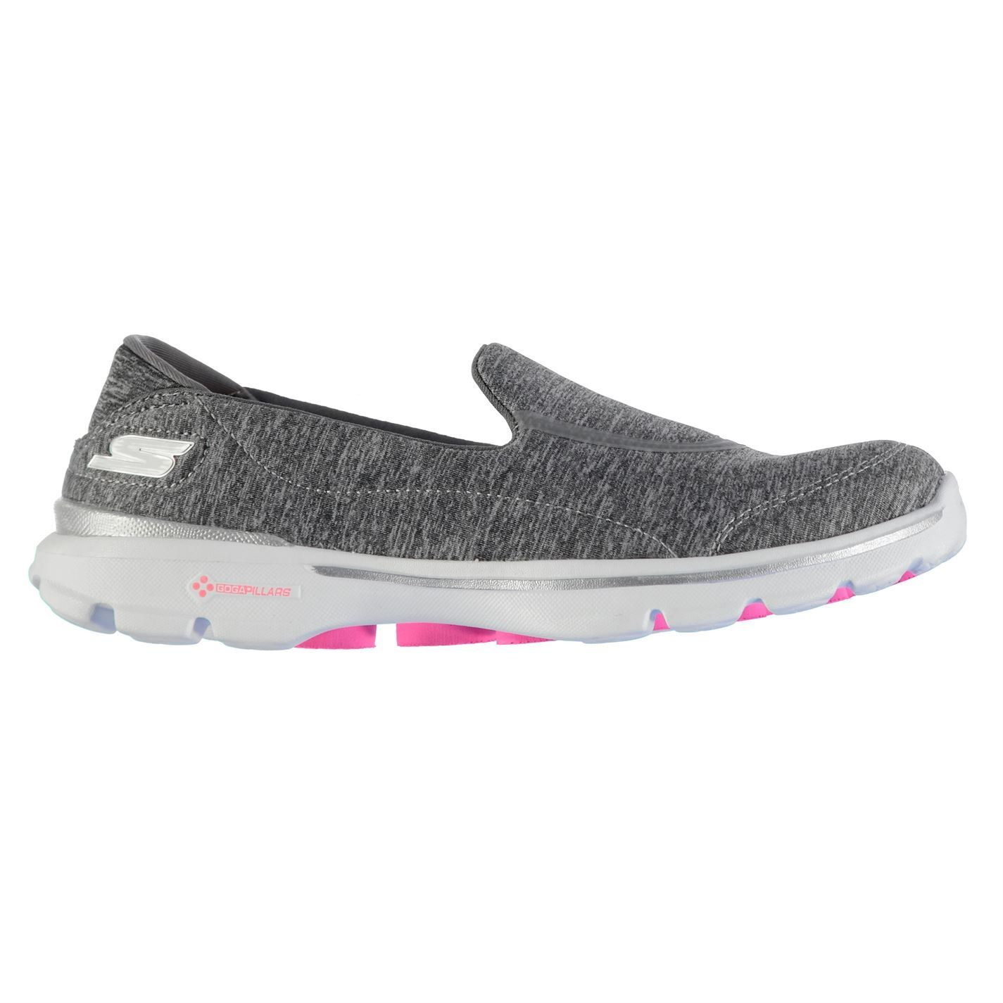 Details about Skechers Womens Go Walk3 Rb Nylon Slip On Casual Textile Shoes f8af328b82