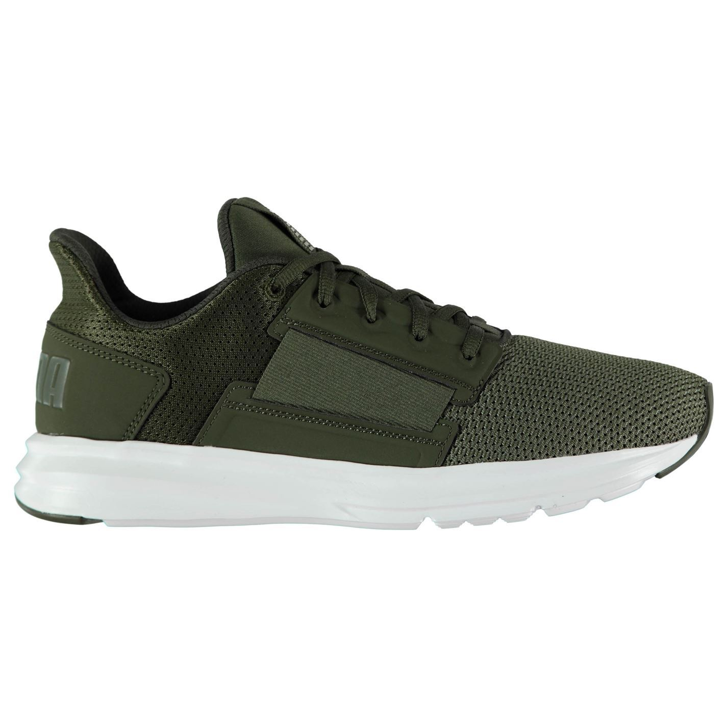 Puma Enzo Street Sneakers hommes Gents Runners Runners Runners Laces Fastened Lightweight Pattern 8cc8ee