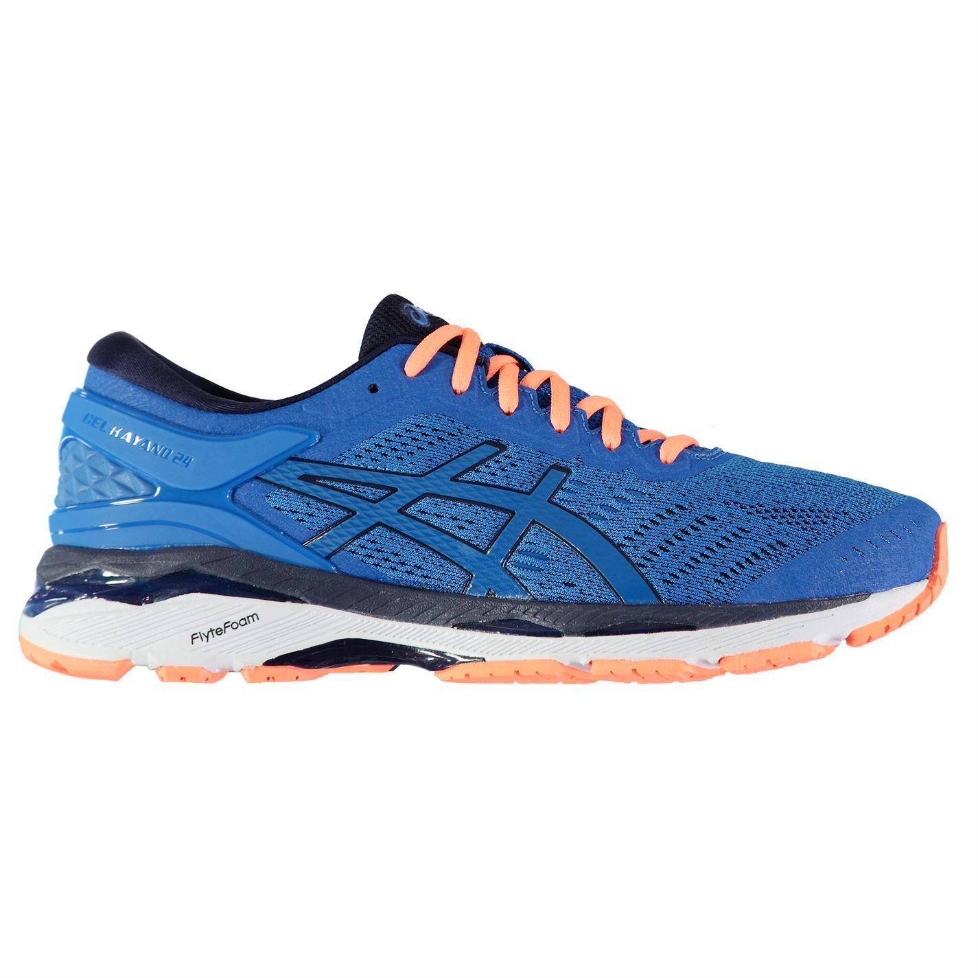 Asics  Schuhes Herren Gents Kayano 24 Running Schuhes  Footwear Laces Fastened d11a81