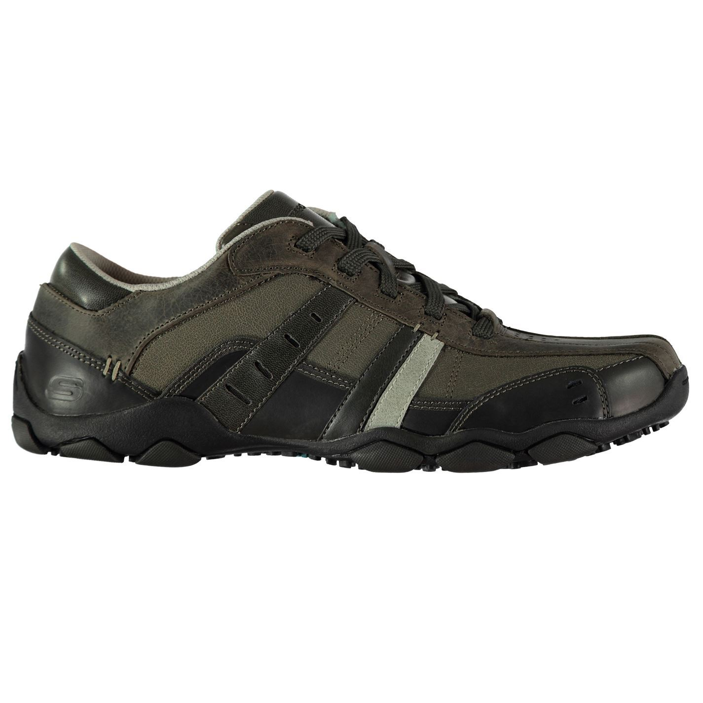 Skechers Uomo Diam Vasse Sneakers  Uomo Skechers Gents Everyday Schuhes Laces Fastened Padded ade65e