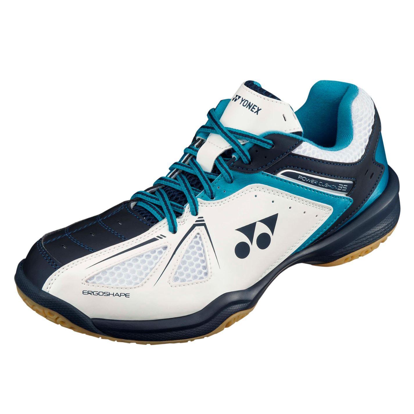 Yonex Mens Pwr Cush35 B S Badminton Trainers  2659bc90f0ba5