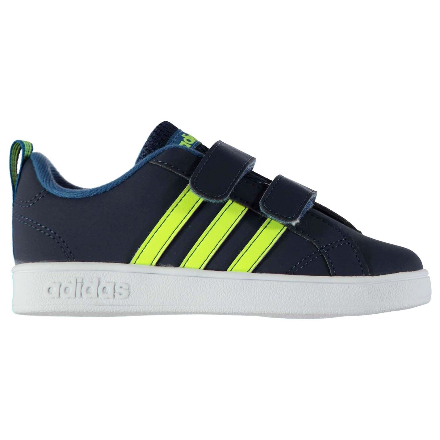 adidas Boys Advantage Nubuck Trainers Baby Shoes Footwear Touch and