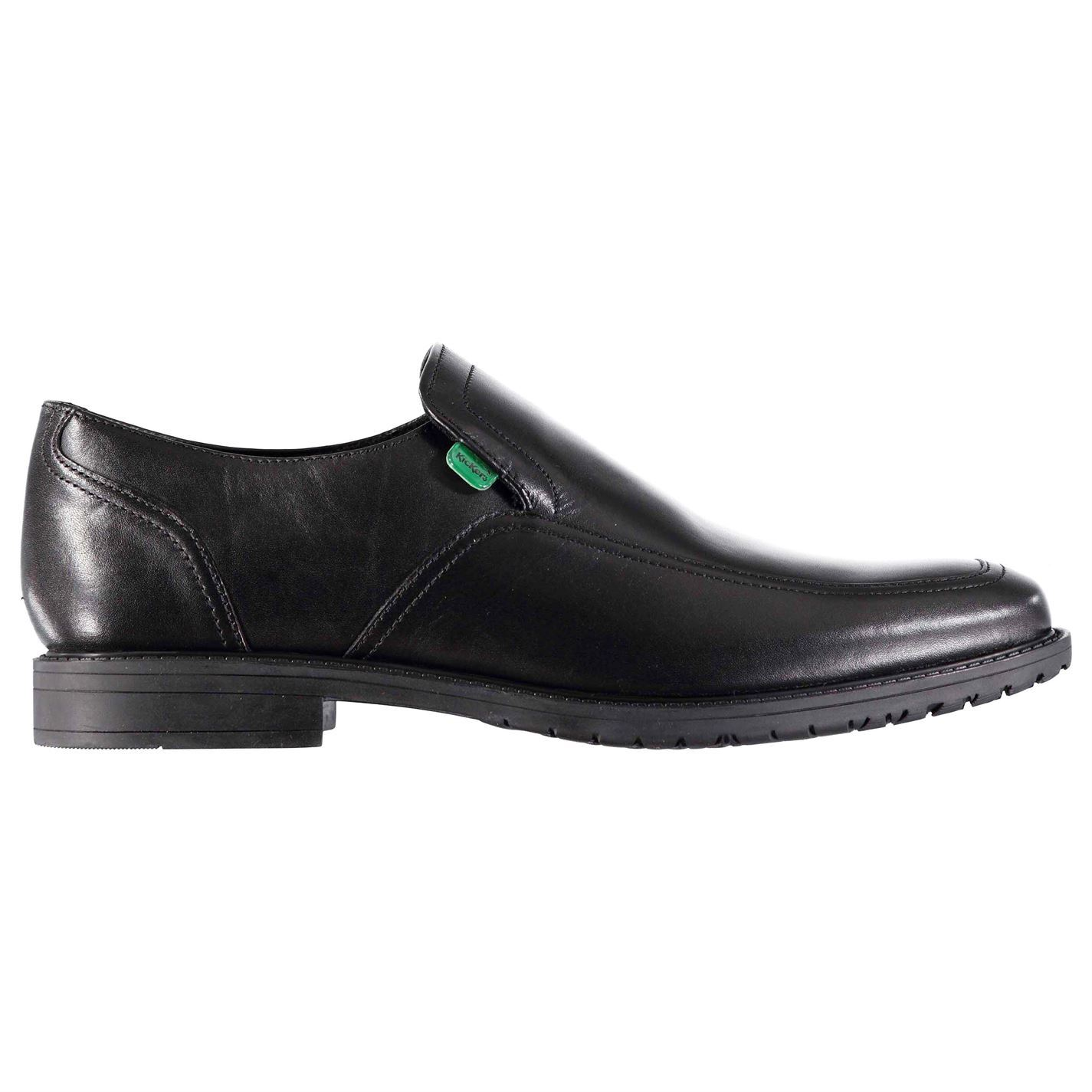 Kickers-Mens-Chreston-Slip-On-Formal-Shoes-Smart-Slight-Heel-New