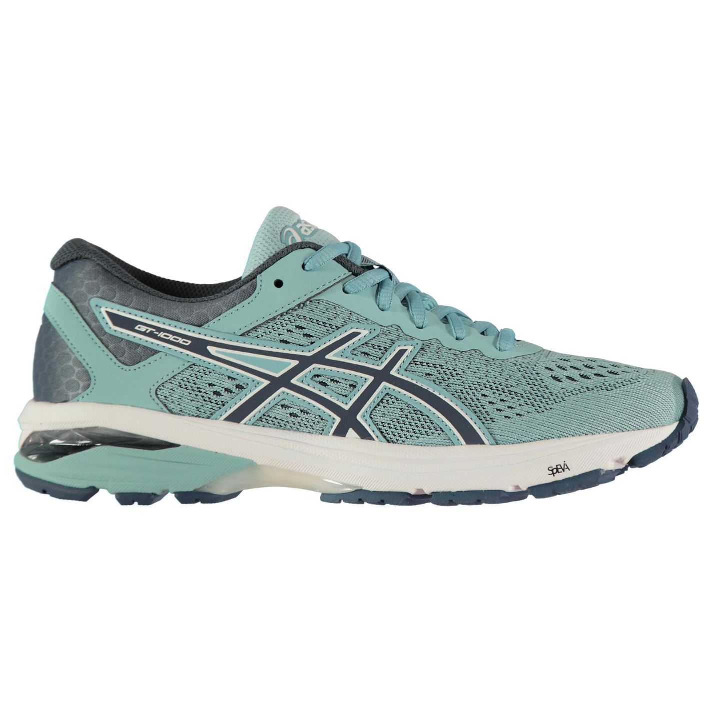 Asics Damenschuhe GT1000 6 Running Collar Schuhes Road Lace Up Breathable Padded Ankle Collar Running cada2c