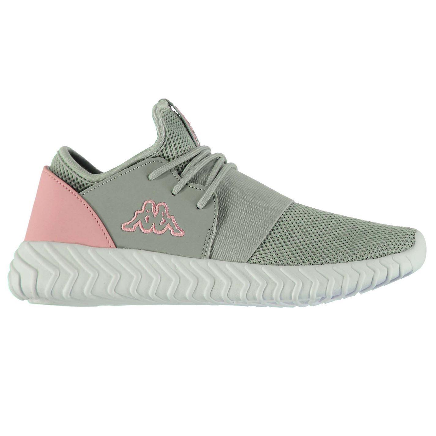 Kappa-Femme-Lena-Trainers-Runners-Lacets-Chaussures-Quotidien-Leger-Textile