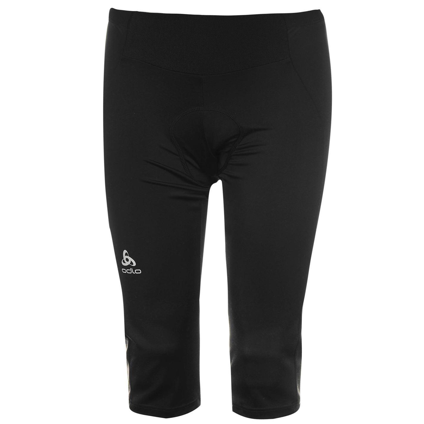 Odlo Womens Julier Cycling Capri Thermoregulation 3 4 Elastic Training  Sports b056d452c0d0