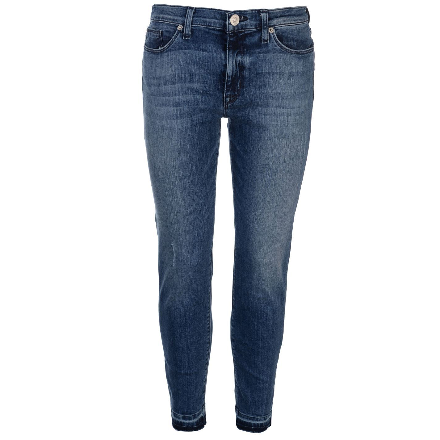 Hudson-Jeans-Womens-Mid-Rise-Skinny-Pants-Trousers-Bottoms-Zip-Slim-Fit-Stretch