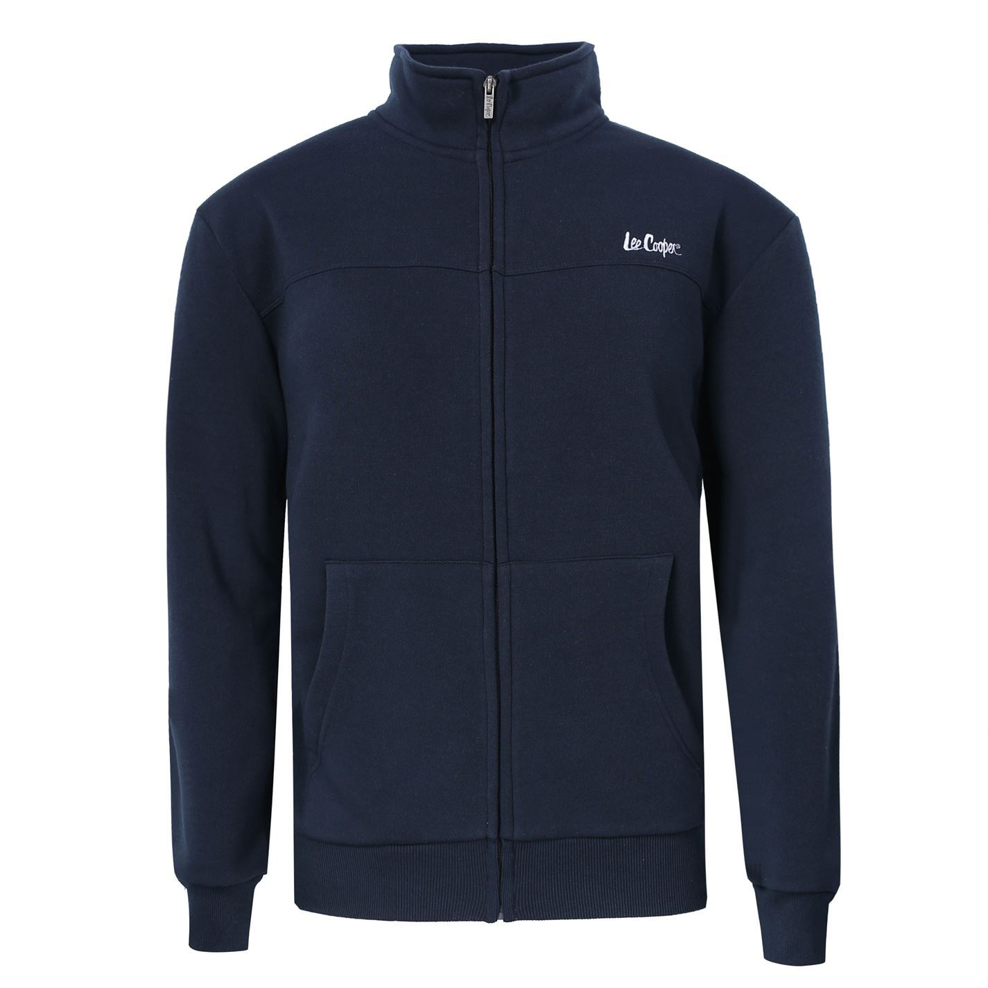 lee cooper mens full zip fleece jacket top coat sweatshirt jumper long sleeve ebay. Black Bedroom Furniture Sets. Home Design Ideas