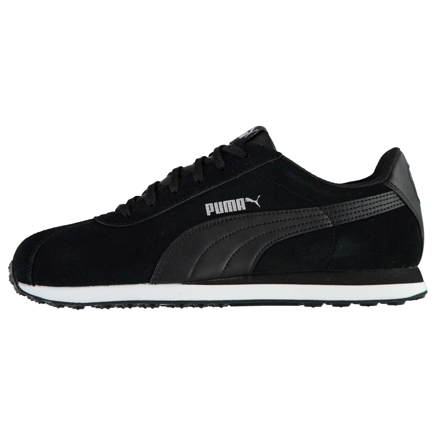 Image is loading Puma-Mens-Turin-Suede-Trainers-Runners-Lace-Up- 145b9bc74740