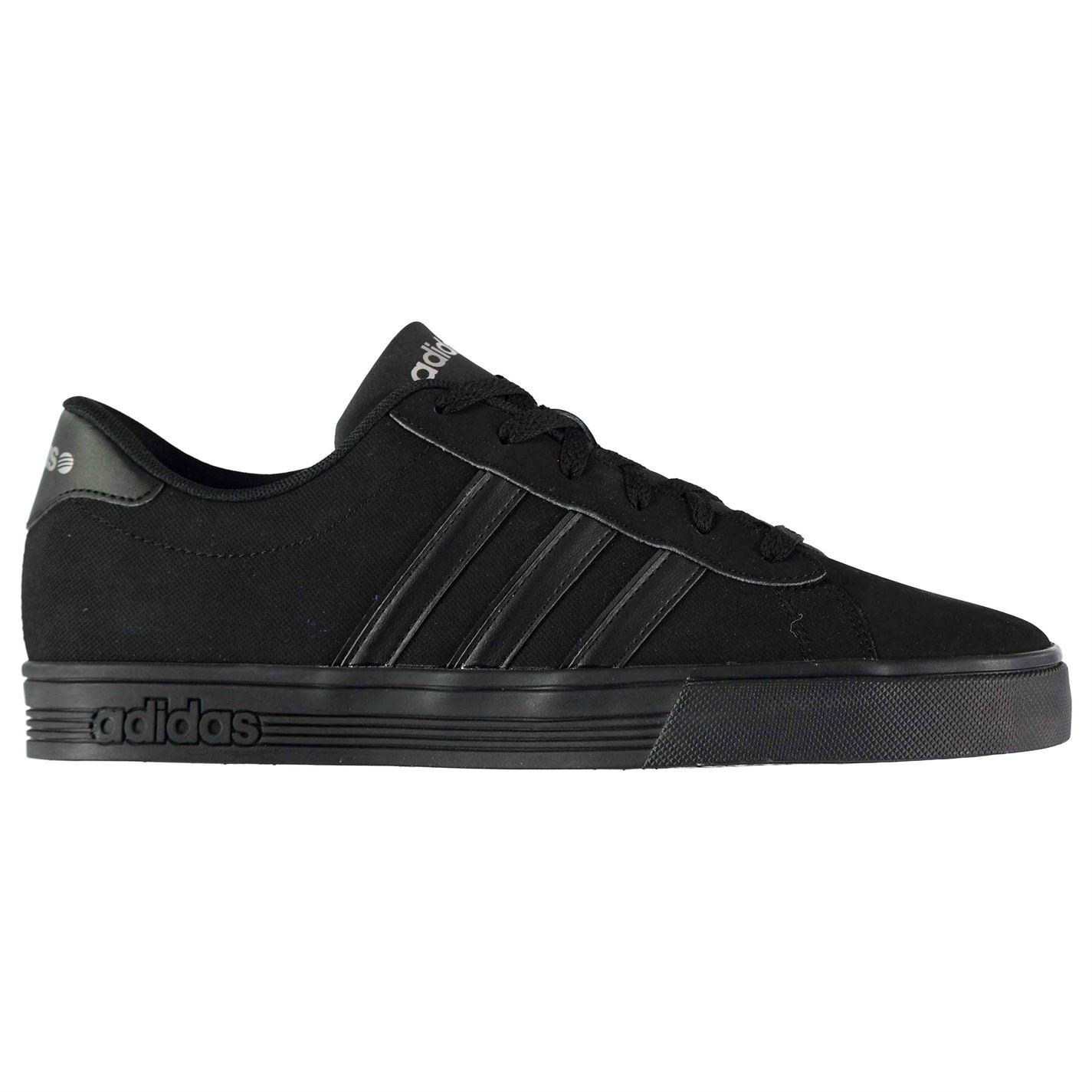 6dfd66da73e8 Details about Mens Daily Team Nubuck Trainers adidas Shoes Lace Up Leather  New