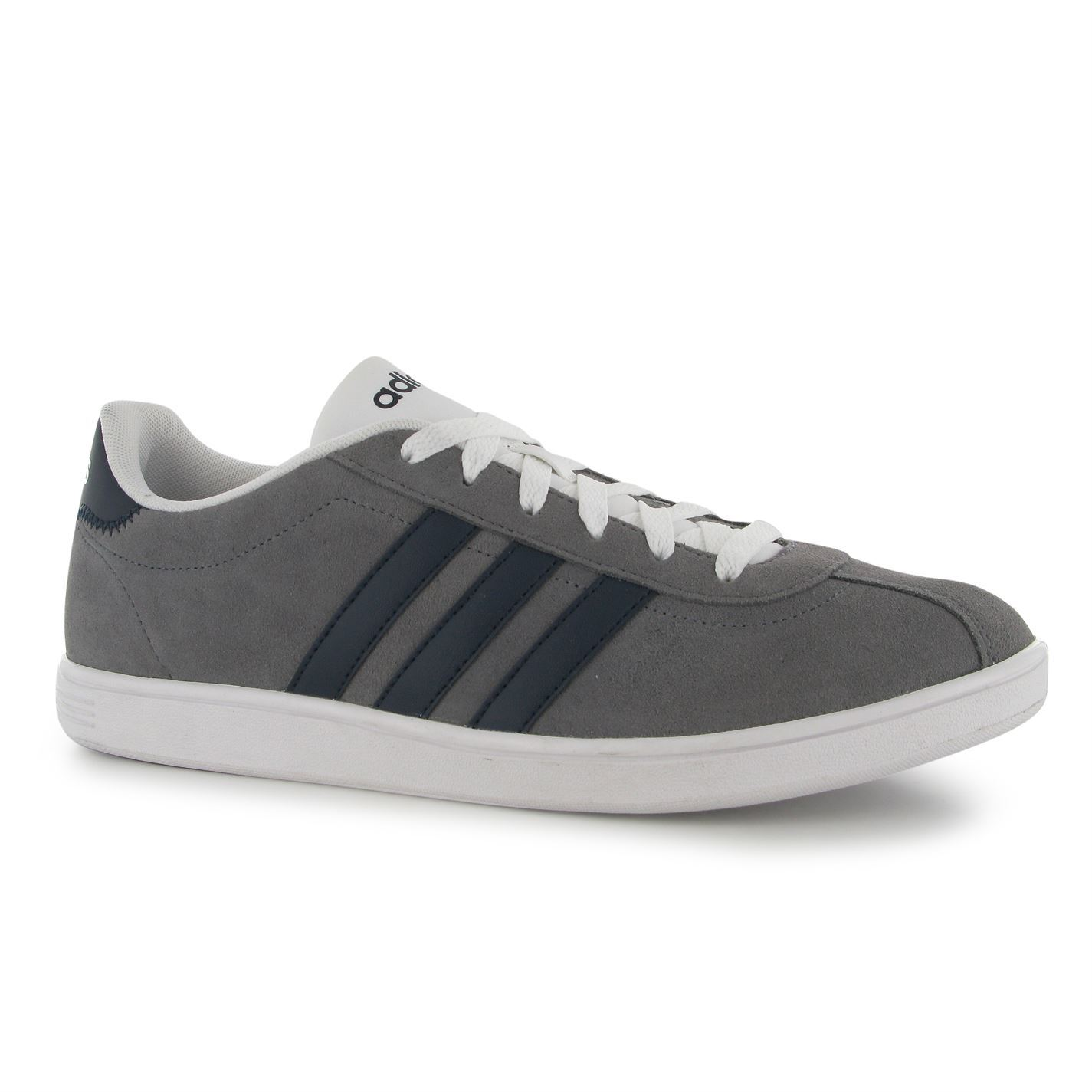 e41373af5e990 adidas Mens VL Court Suede Sport Shoes Trainers Sneakers Footwear