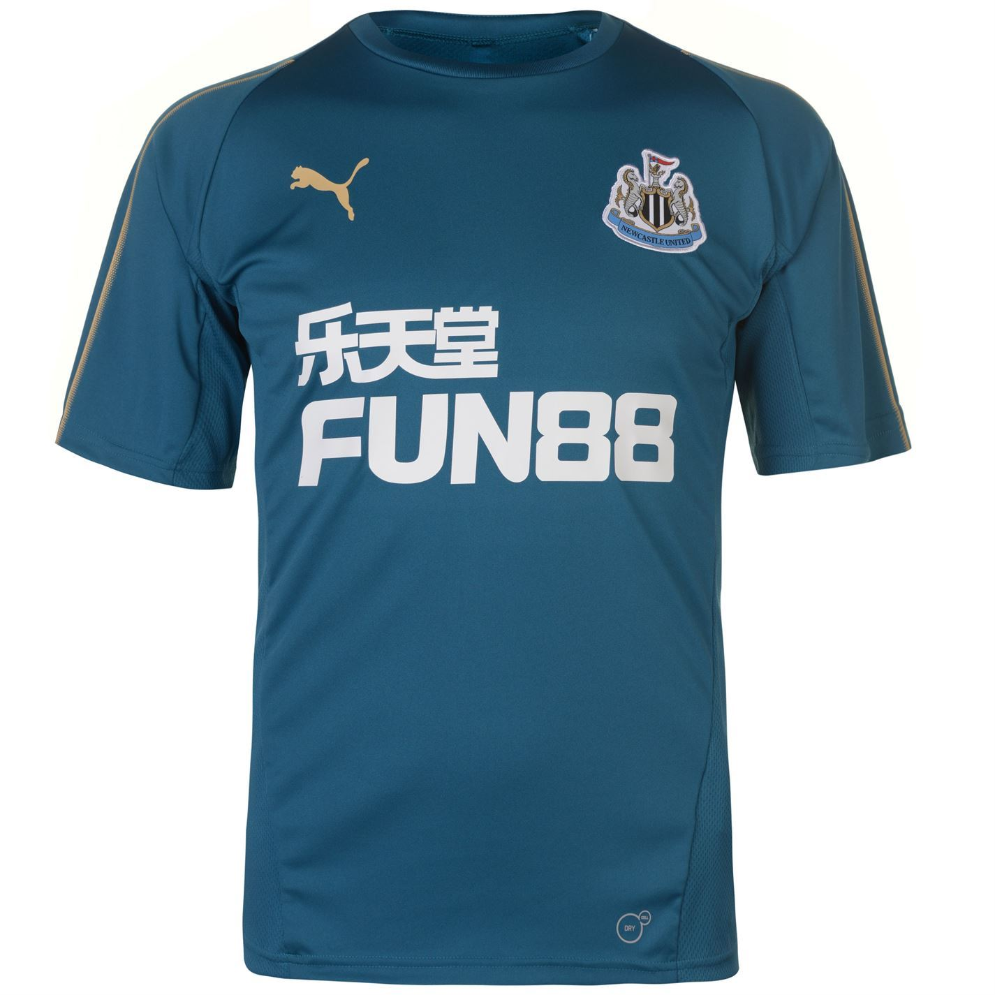 This Puma Newcastle United Training Top 2018 2019 has crafted with dryCELL  technology which sweeps moisture away from your skin for exceptional  comfort, ... 0b1c58f436