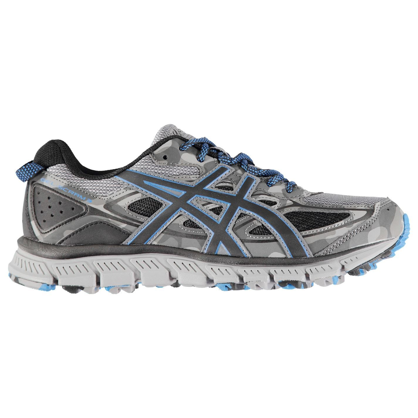 Asics Gel Scram  3 Running Schuhes  Scram Herren Gents Trail Laces Fastened Ventilated 597af0