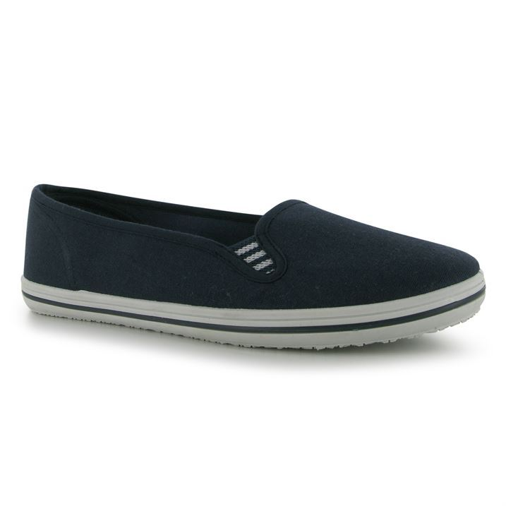 Slazenger-Womens-Canvas-Slip-Ons-Low-Profile-Casual-Lightweight-Shoes-Ladies