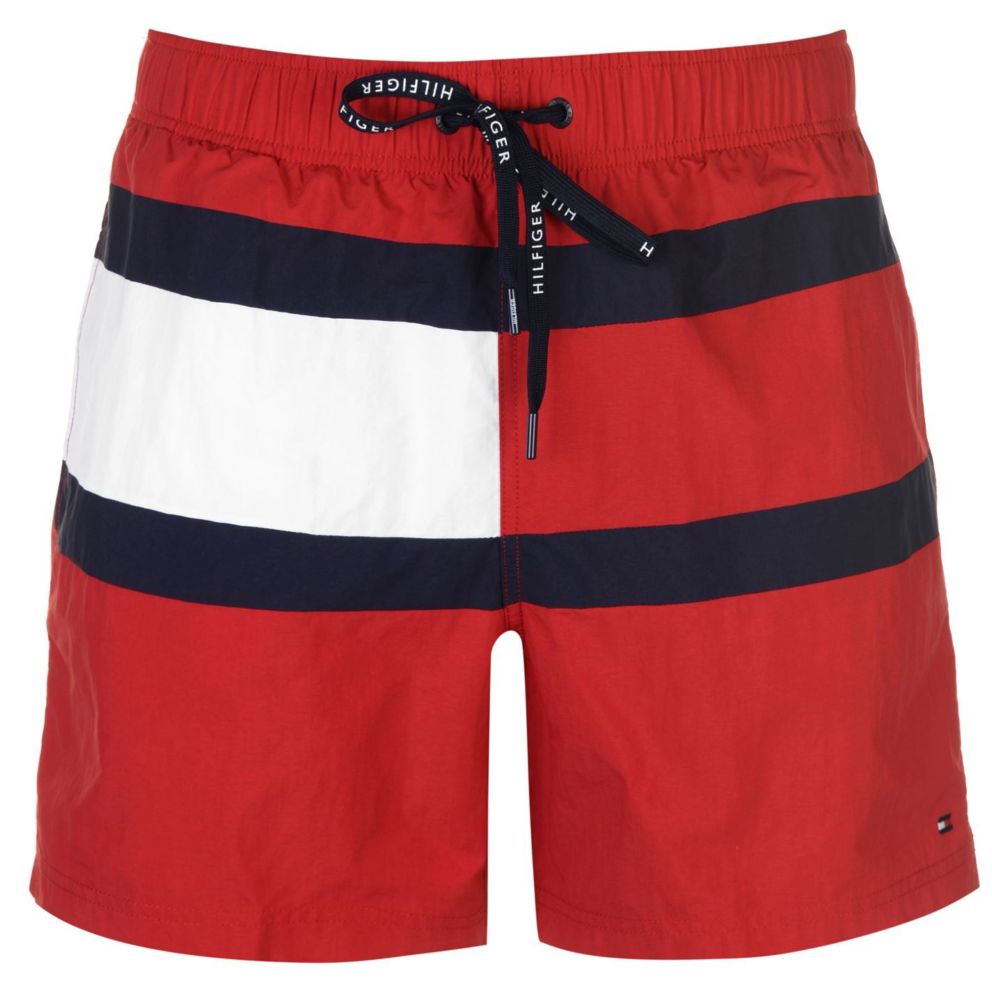 47d2f6f422 Image is loading Mens-Tommy-Hilfiger-Drawstring-Swim-Shorts-Lightweight-New