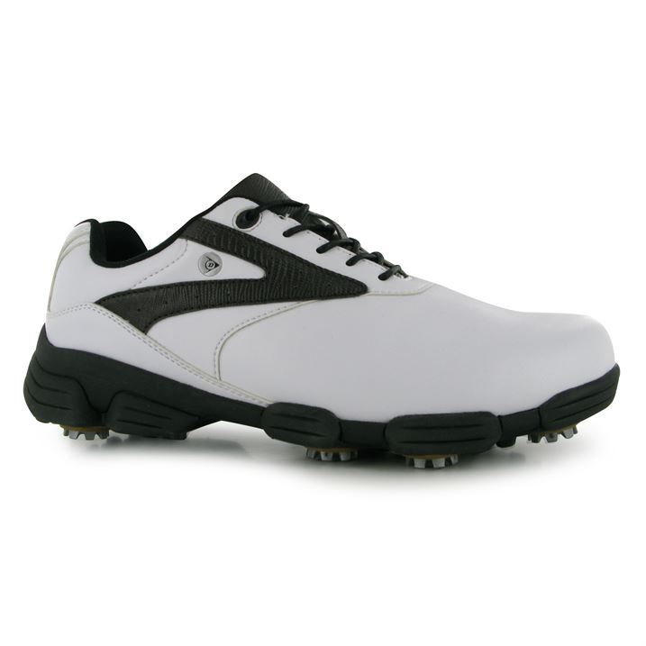 Dunlop-Mens-Biomimetic-100-Golf-Cushioned-Shoes-Spike-Lace-Up-Sports-Trainer