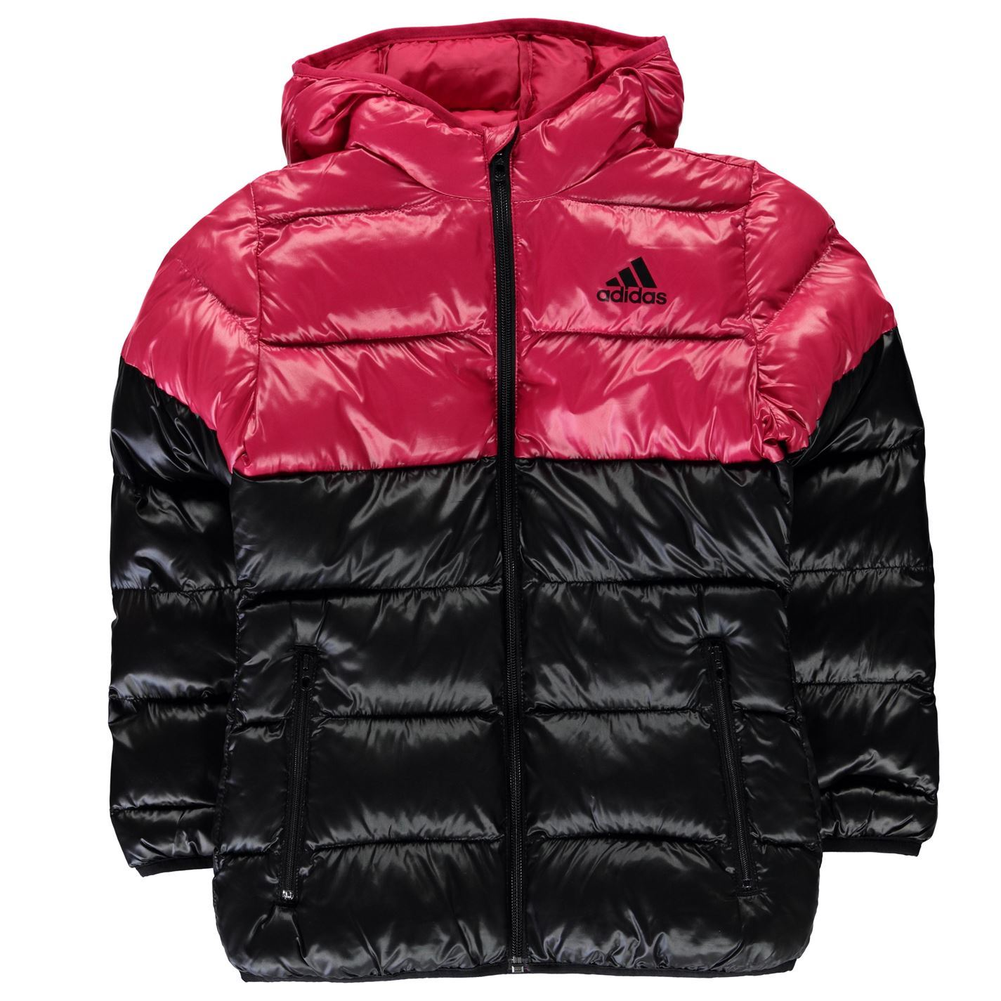 Adidas Kids Girls Back To School Padded Bubble Jacket Junior Coat