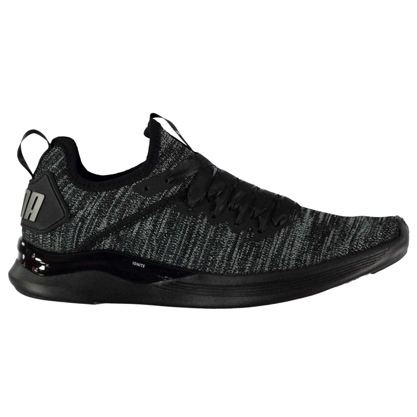 Details about Puma Womens Ignite Flash Satin Trainers Runners Knit Knitted 1e659e3e4