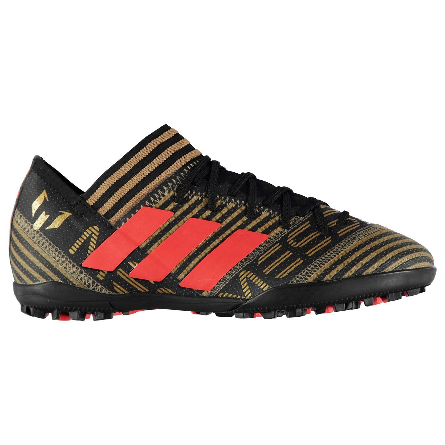 5b2e09460be5 adidas Mens Nemeziz Messi Tango 17.3 Astro Turf Trainers Football Boots  Lace Up