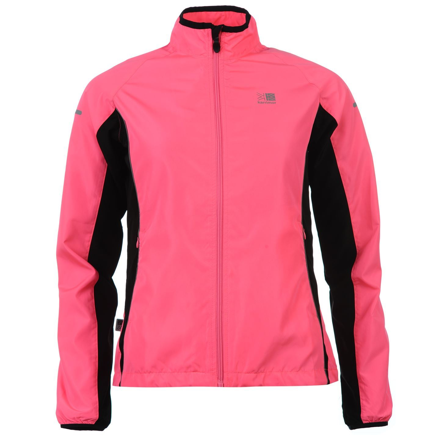 Karrimor-Womens-Ladies-Running-Jacket-Long-Sleeve-Zip-Fastening-Coat-Top-New