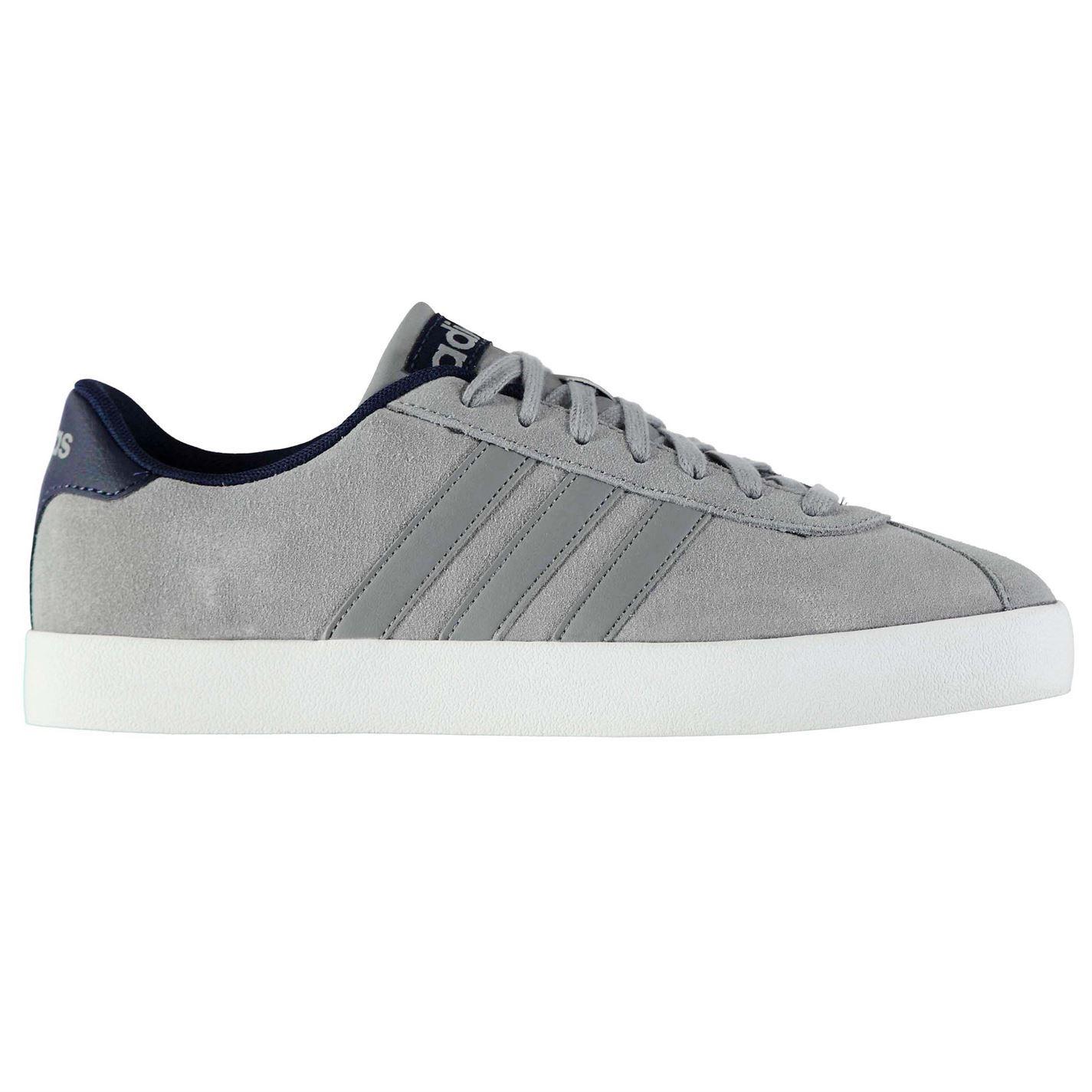 Adidas Adidas Adidas homme Gents Cour Vulc Baskets Chaussures Lacets fixé- cbc2af