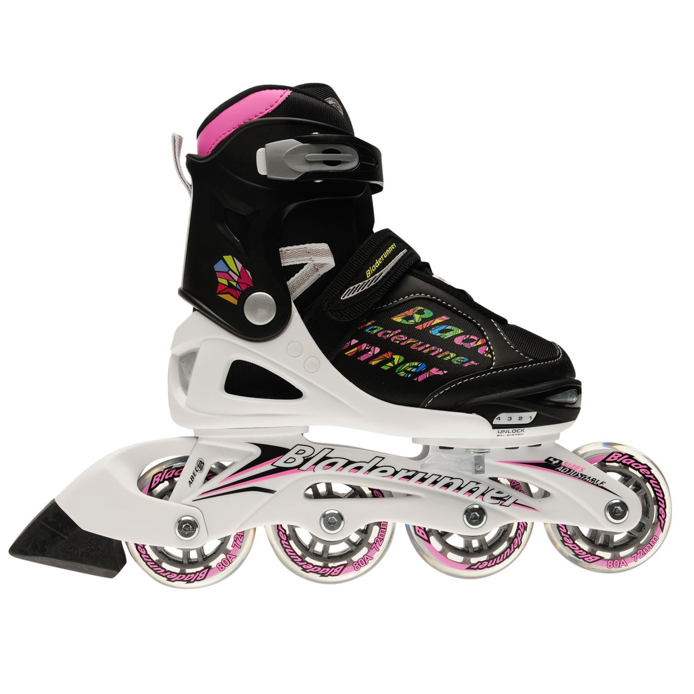 Rollerblade Phaser Youngster Flash Skates Youngster Phaser Girls Inline Padded Ankle Collar Strap c8e5af