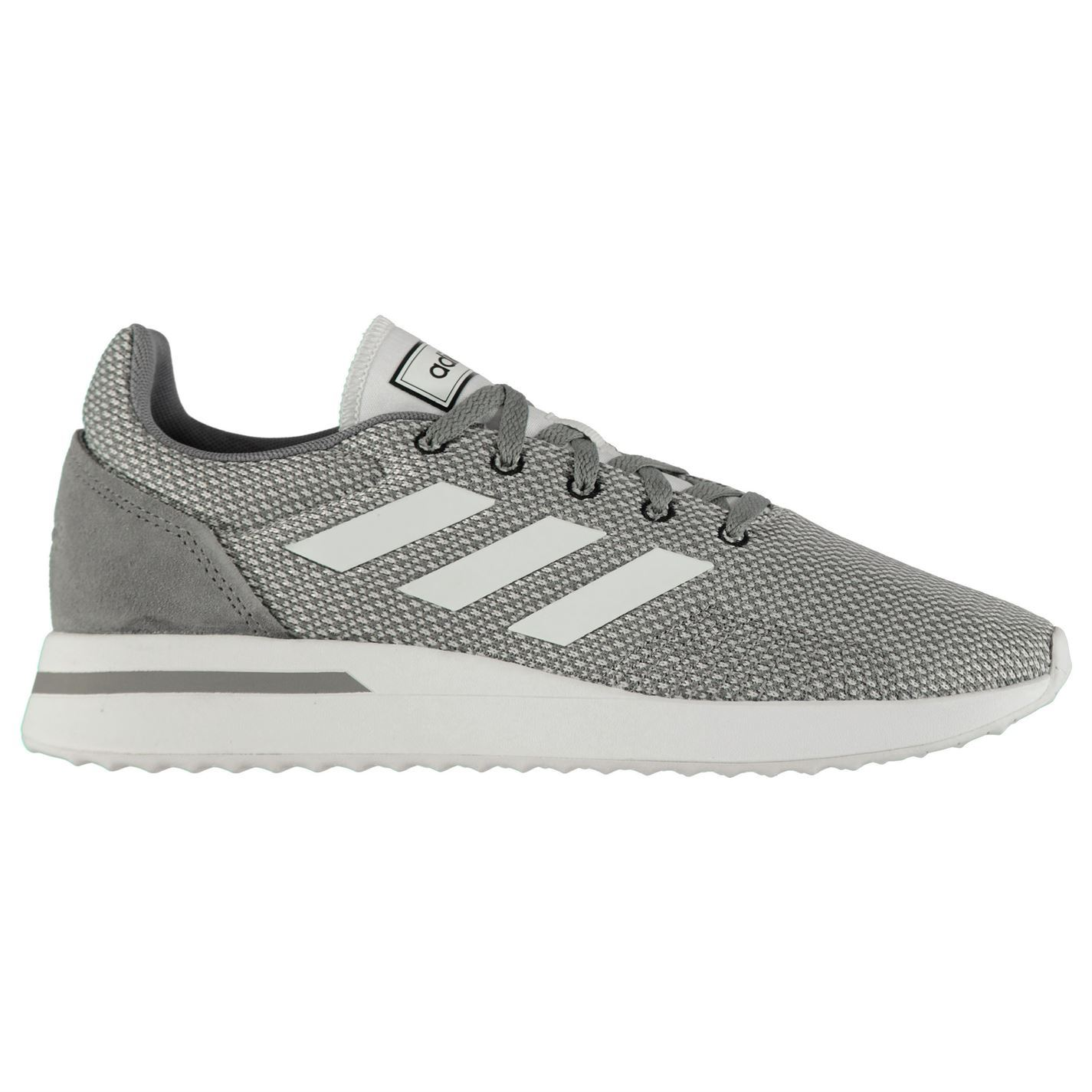 adidas Homme Run 70s Trainers Runners Lace Up Knit Knitted Ortholite Suede Stripe
