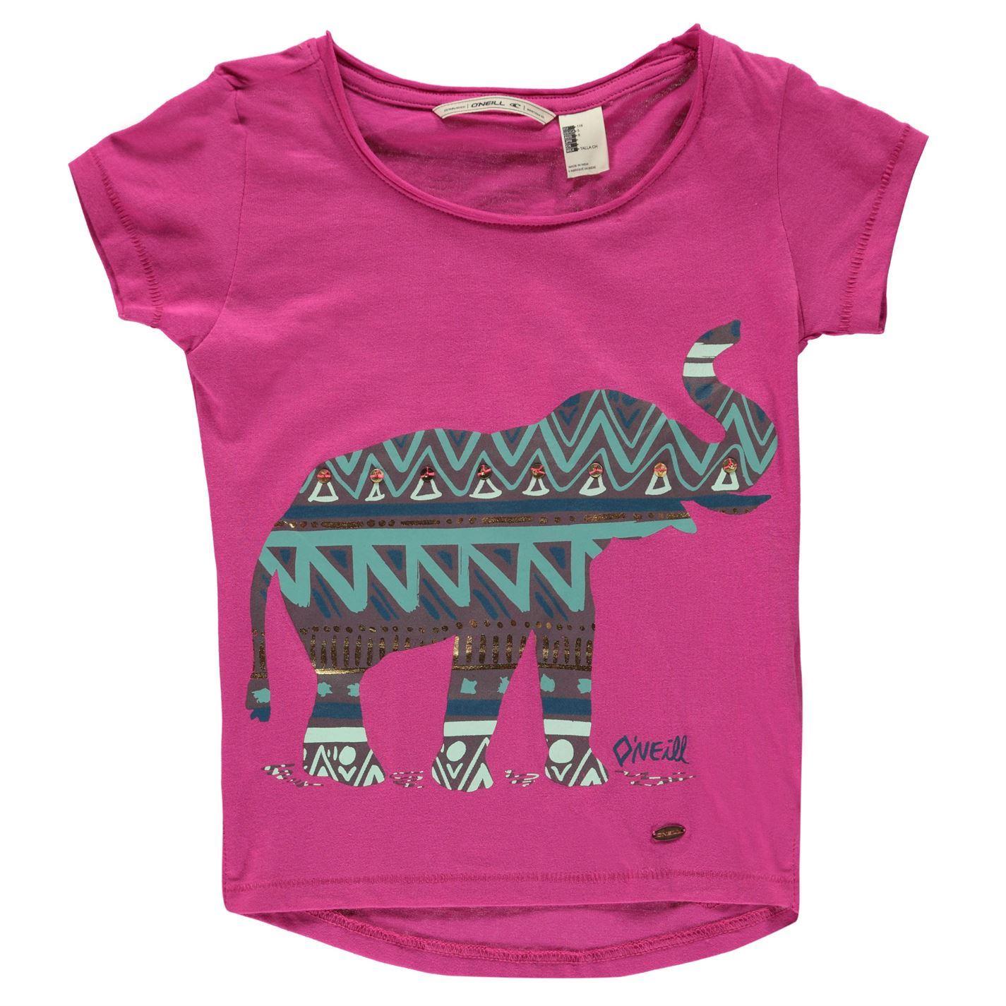 ONeill-Mandala-T-Shirt-Infants-Girls-Crew-Neck-