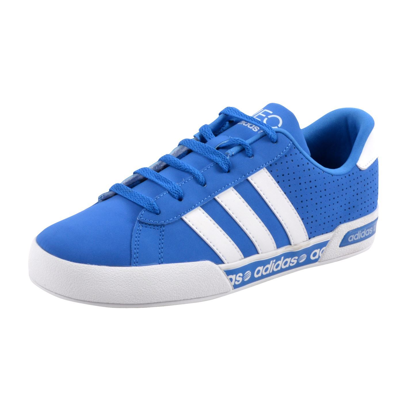 adidas Neo Daily Mono Front Trainers Pumps Running Sneakers Lace Up Gents Mens. 360 spin. adidas Neo Daily Mono Trainers