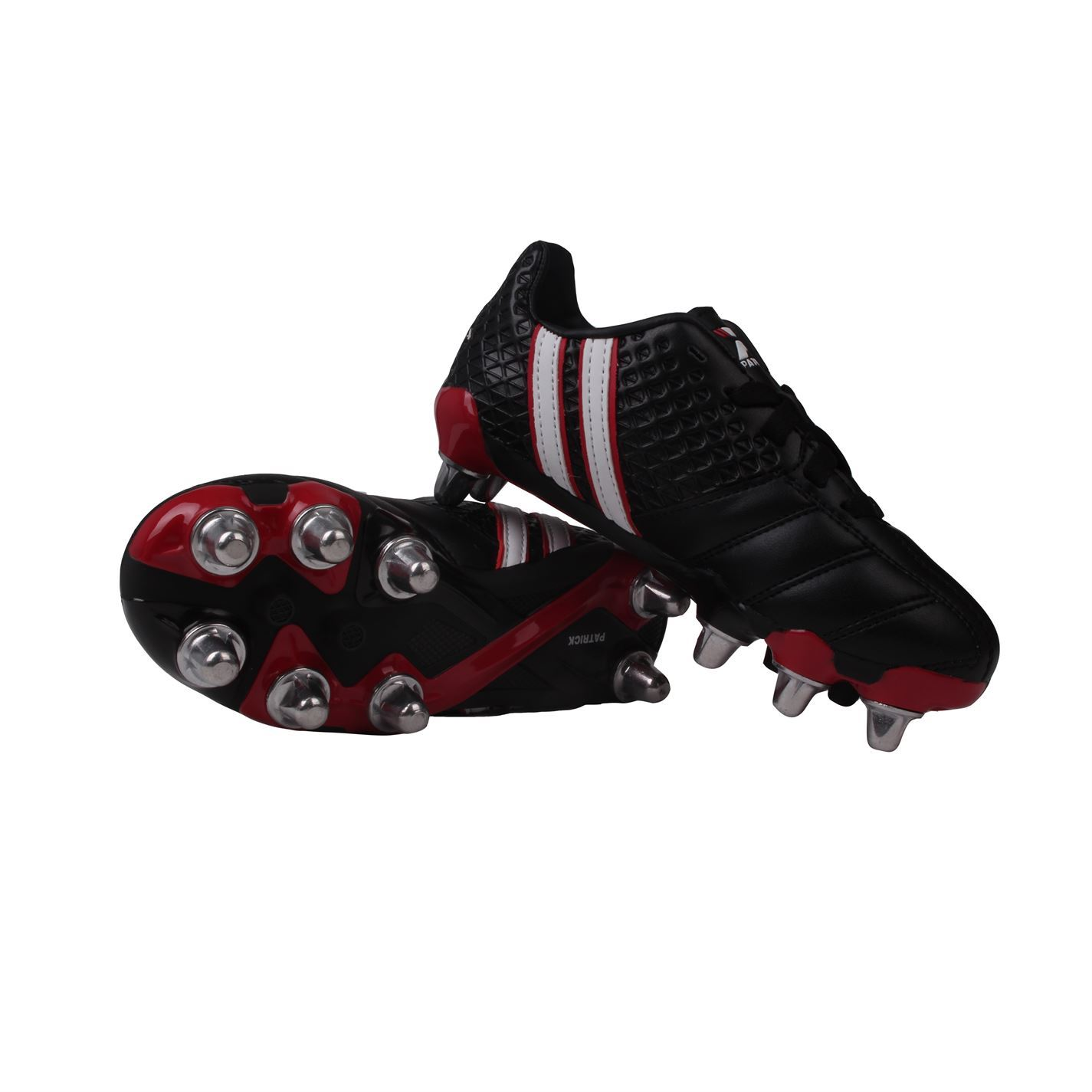 3344dd8ad Details about Patrick Kids Power X Childrens Rugby Boots Boys Sports New  Youth Shoes Junior