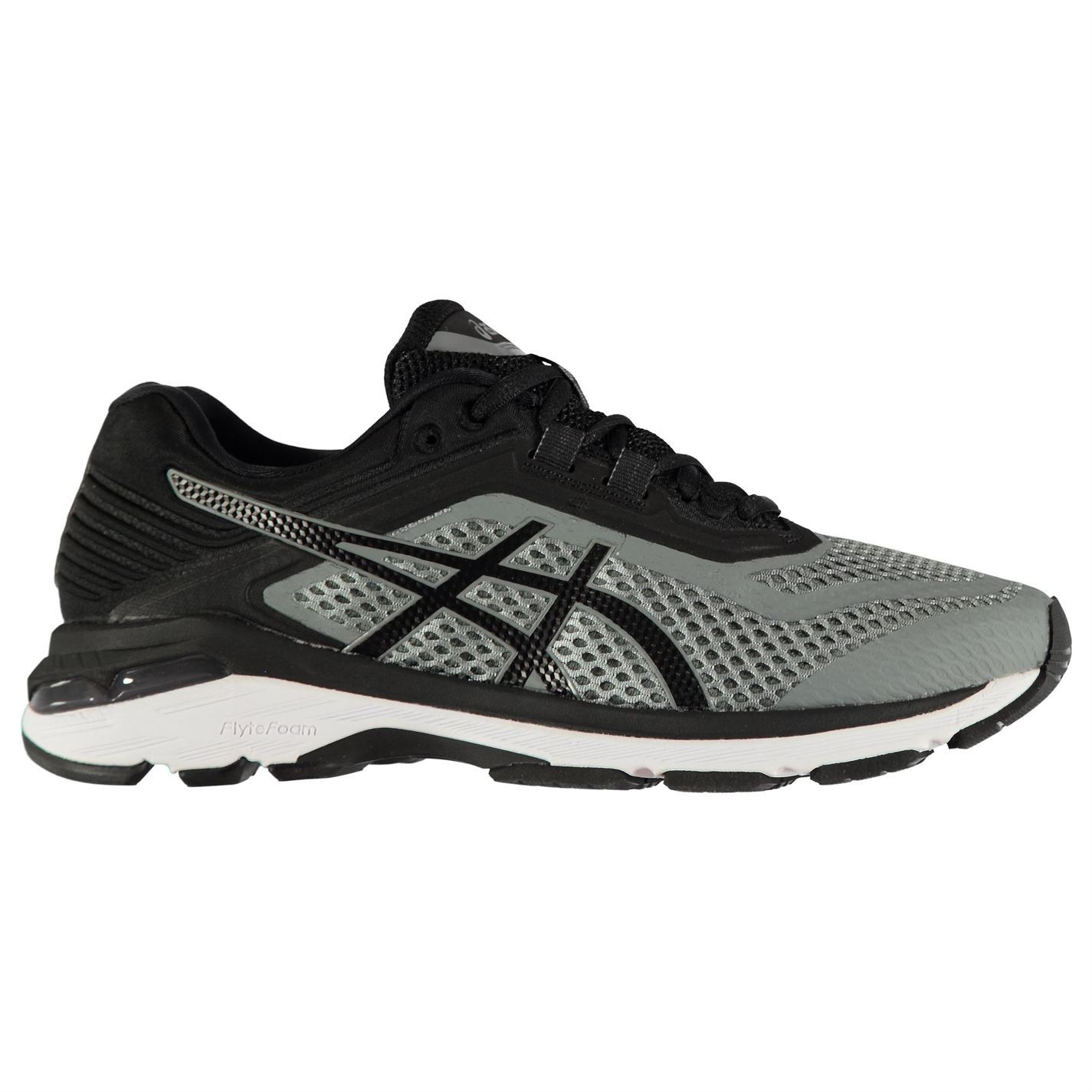 Asics Uomo GT2000 6 Running Shoes Road Lace Up Breathable Padded Ankle Collar