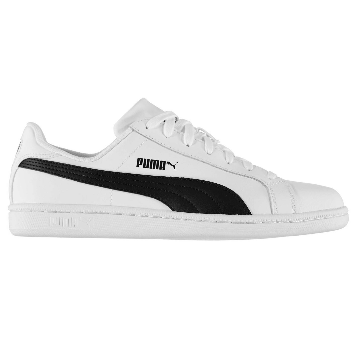 mens white puma trainers
