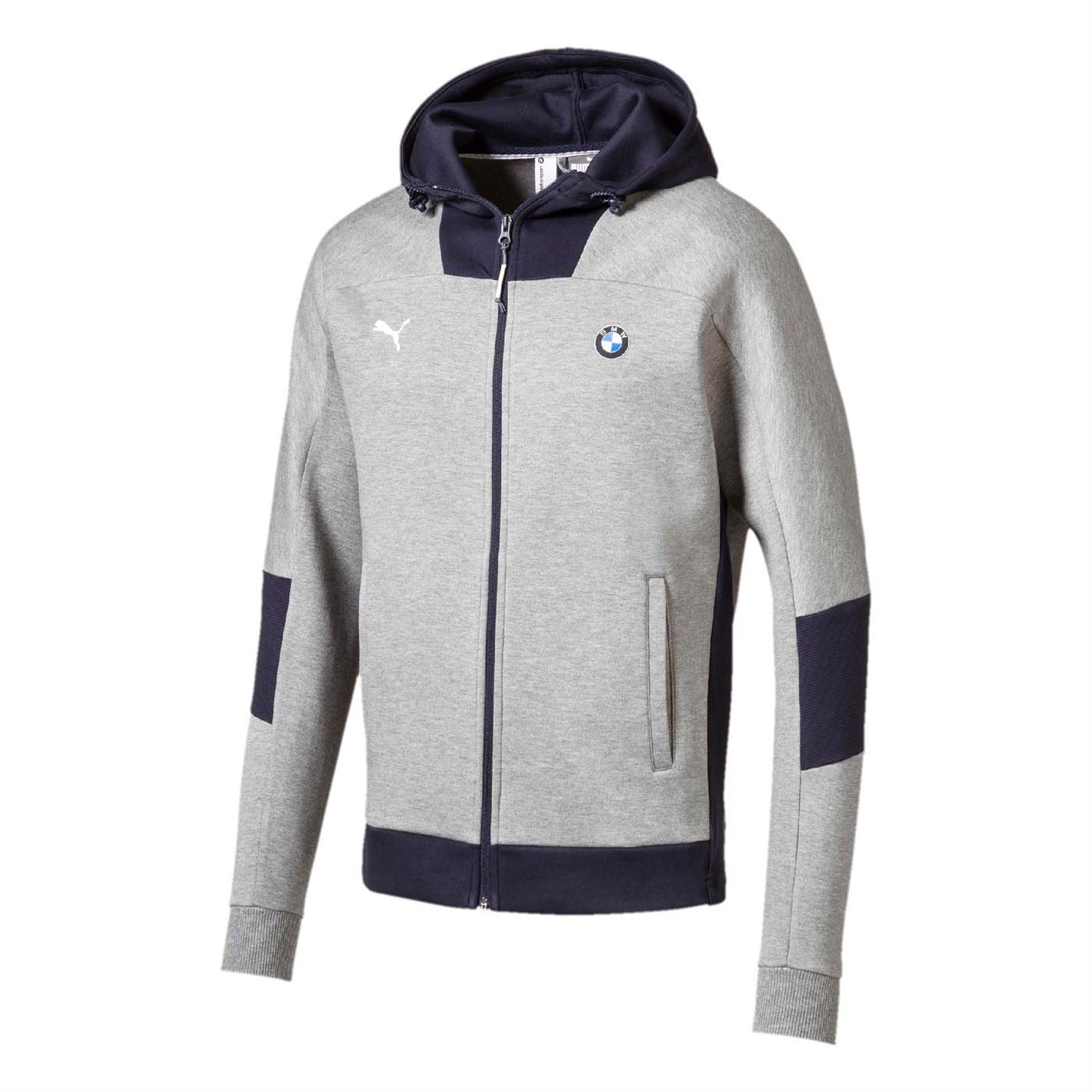 Details about Puma Mens BMW Full Zip Jacket Hoodie Coat Top Hoody Hooded  Long Sleeve Cotton 4fe0bfb8e23