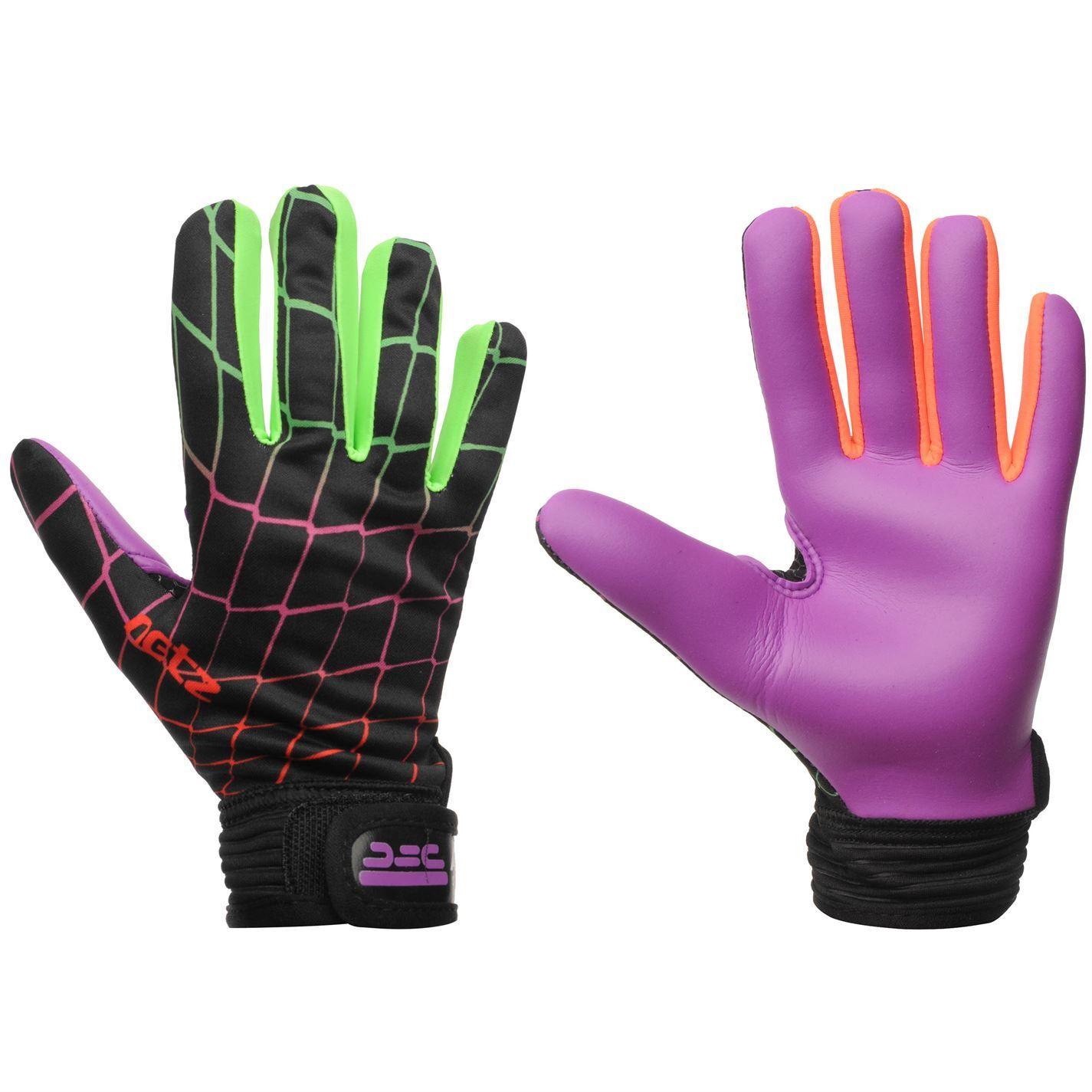 58f5c050709 ATAK Netz Goalkeeper Gloves Hands Protection Training Football Accessories  Green/orange S 830034