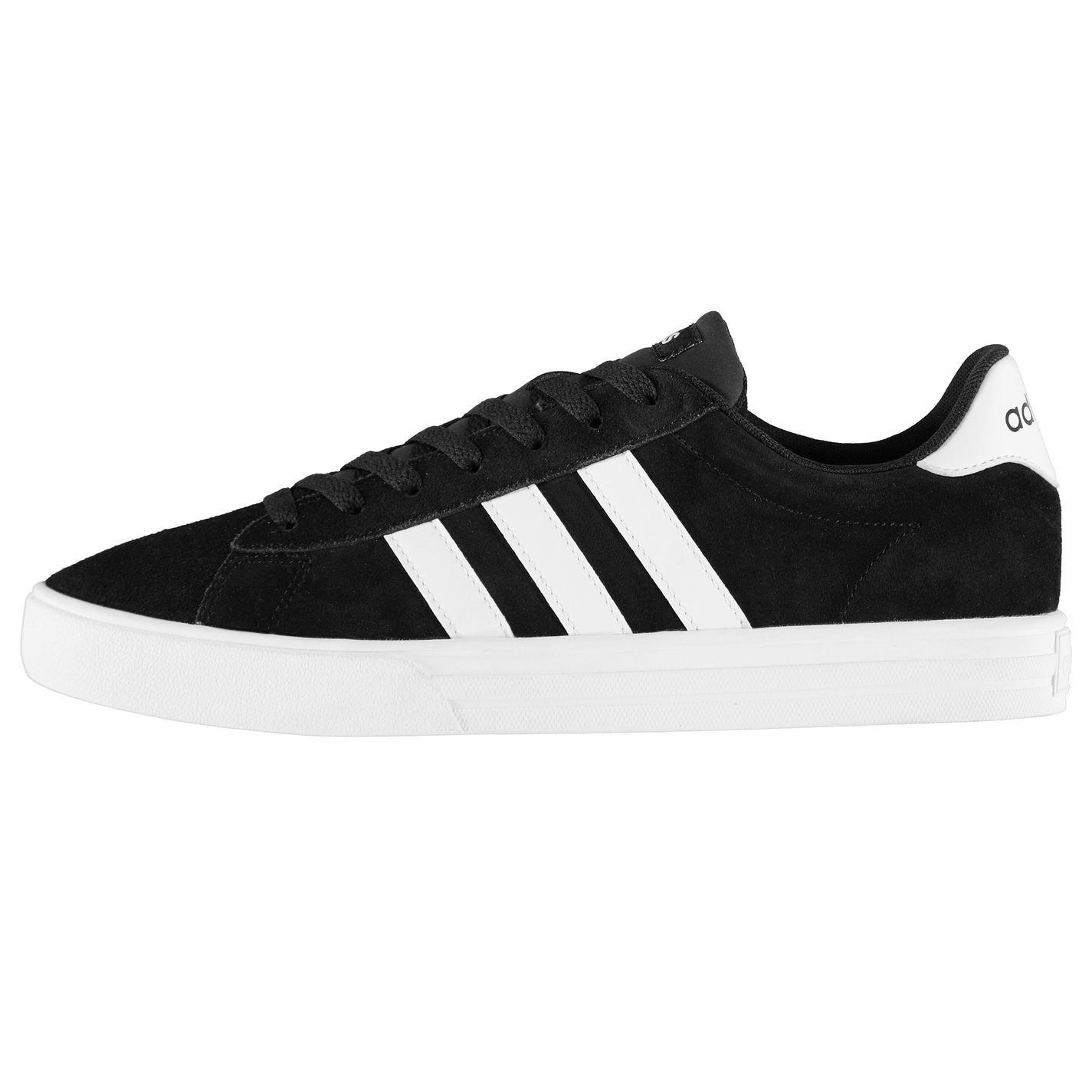 brand new 365ca 31e17 ... where to buy adidas scarpe da ginnastica da uomo in imbottito pelle  scamosciata giornaliere stringati collare