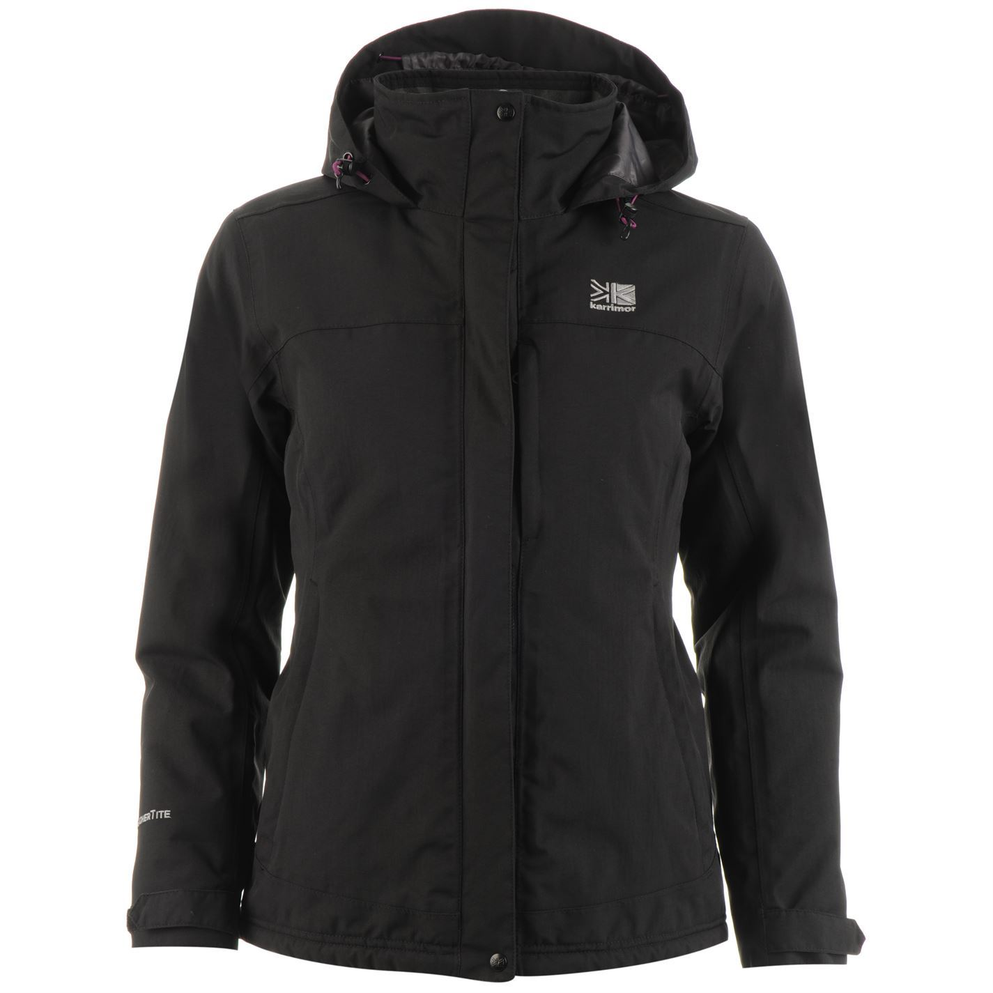 Details about Karrimor Womens Padded Jacket Insulated Coat Top Long Sleeve  Funnel Neck 4432d558534b
