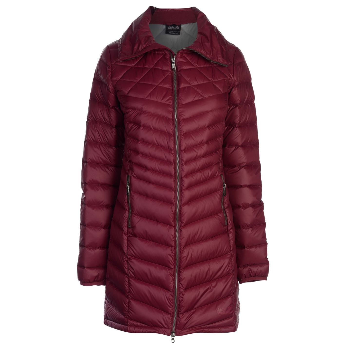 09dd33ee1b Details about Jack Wolfskin Womens Richmond Down Coat Duffle Top Jacket  Windproof Breathable