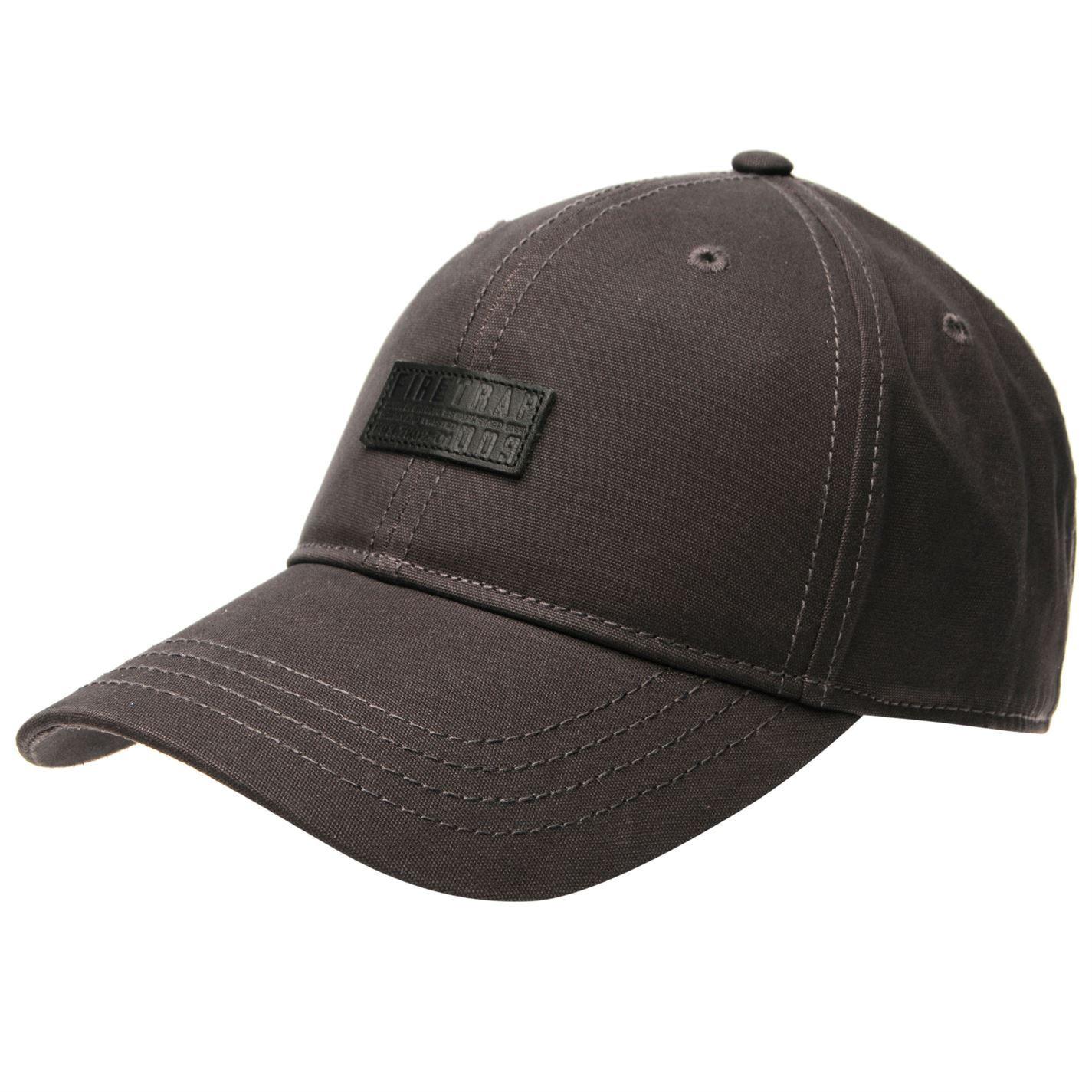 Firetrap Mens Woven Baseball Cap Hat Arched Curved Peak Headwear Accessories d6900177bb1