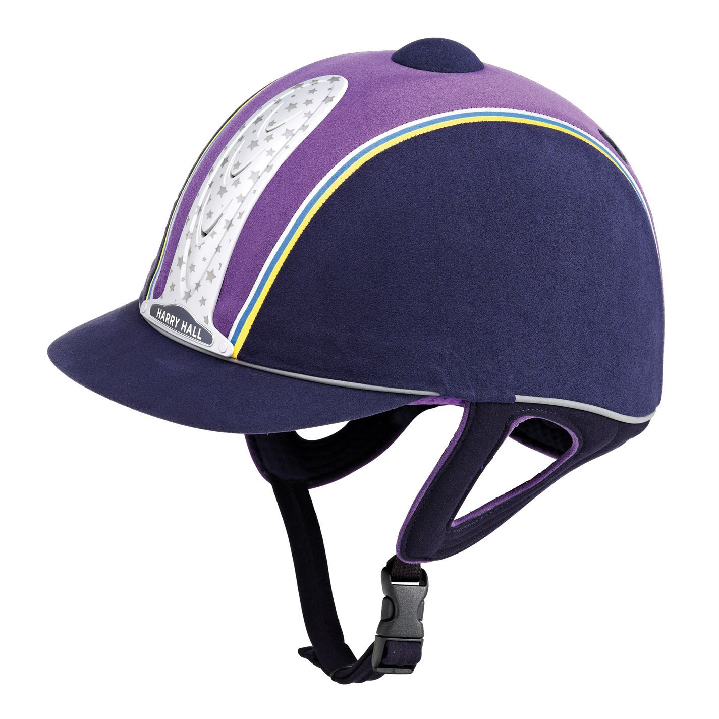 Harry Hall Unisex PAS Legend Plus PAS Unisex Riding Hat Print Printed Ventilation 04b0c6