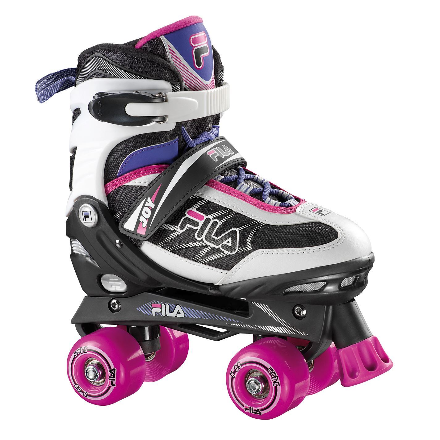 Fila-Kids-Joy-Quad-Skates-Girls-Wheeled-Roller-Shoes