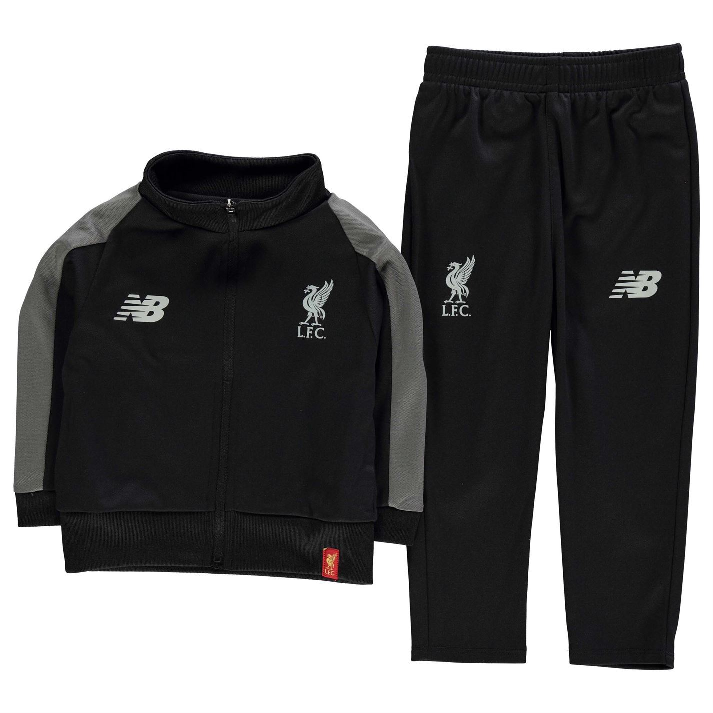581677e73ca This Childrens New Balance Liverpool Presentation Tracksuit 2018 2019  allows your little one to show their support for The Reds in style thanks  to the club ...