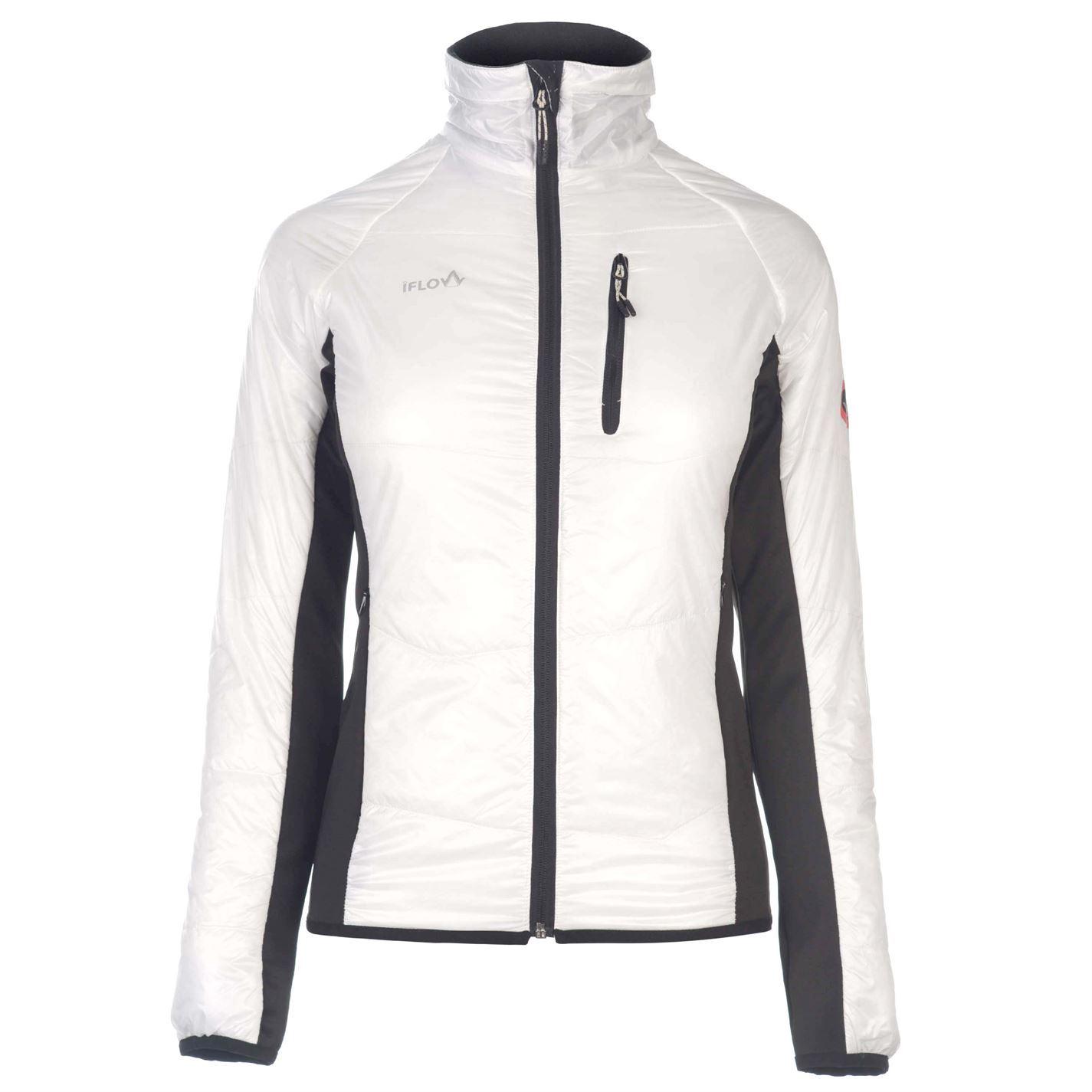 IFlow Damenschuhe Midlayer Full Zip Fleece Top Top Fleece Sweatshirt Jumper d937bc