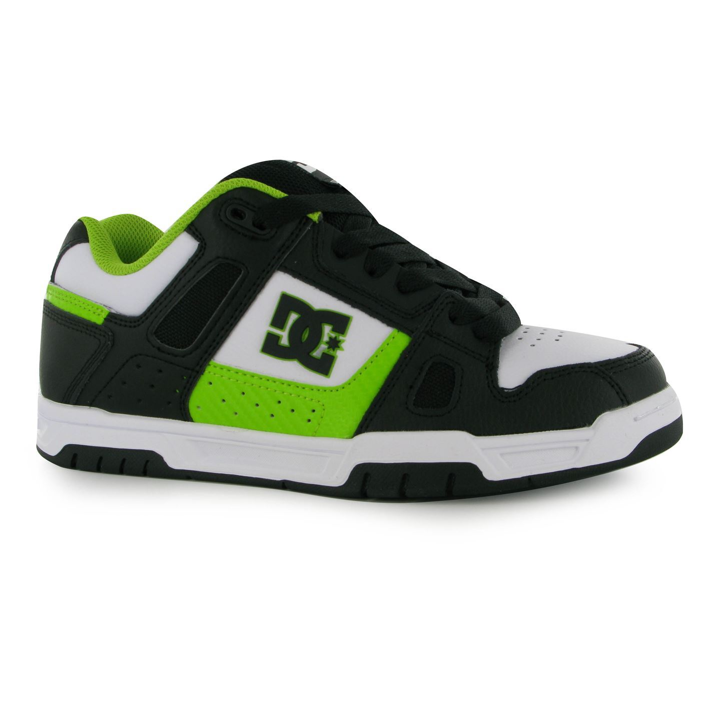 Skate shoes dc - Dc Mens Stag Skate Shoes Leather Trainers Lace Up Sneakers Ankle Support