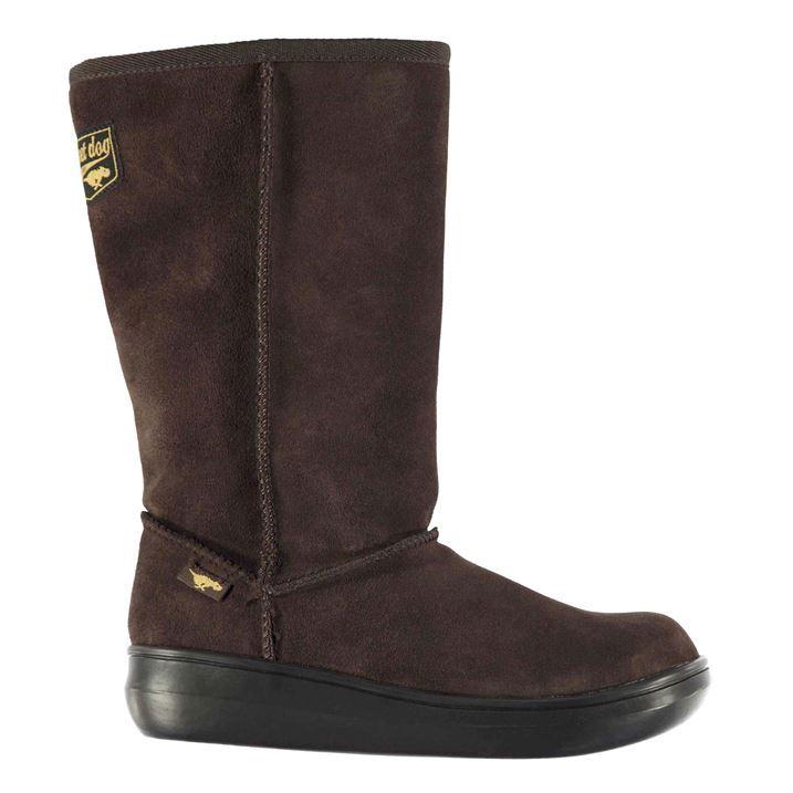 Rocket Dog Womens Sugar Boots Flat Casual Slip On Shoes