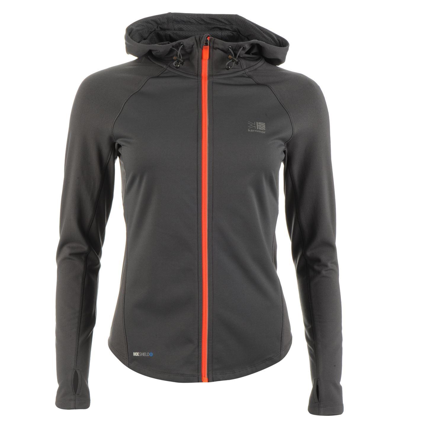 Karrimor-XLite-MXShield-Running-Jacket-Ladies-Performance-Coat-Top-Full-Length
