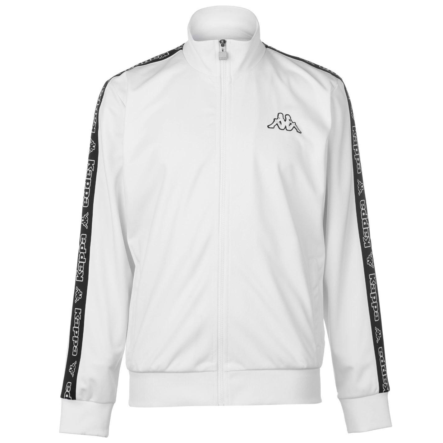 Black and white kappa jacket
