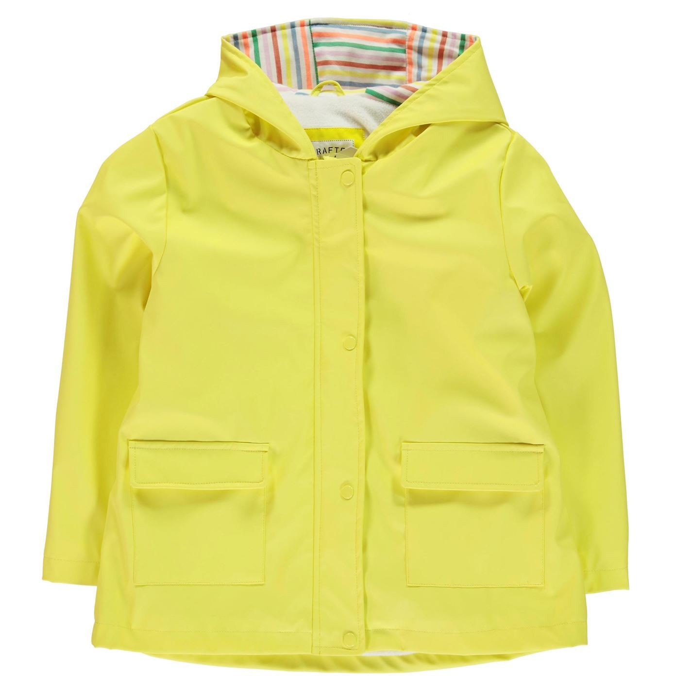 1b5dfd1d3 Crafted Kids Girls Hooded Mac Child Rain Jacket Coat Top Long Sleeve ...