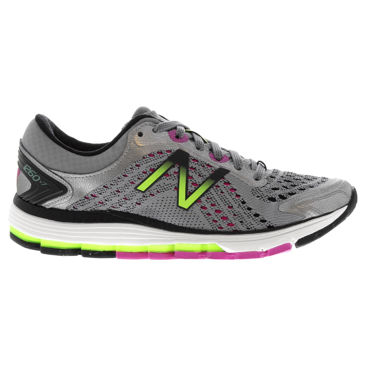 New Balance Damenschuhe 1260v7 Running Running 1260v7 Trainers Road Schuhes Lace Up Breathable Padded 8aeb1f