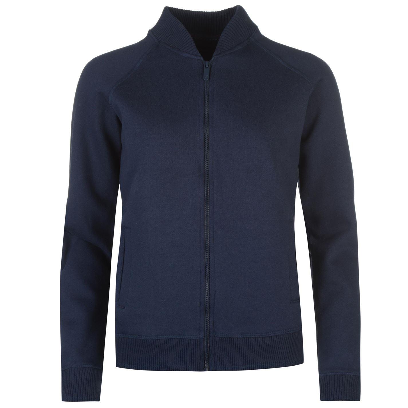 Details about Kangol Womens Fleece Bomber Sweatshirt Full Zip Sweater Tee  Top Jumper a81b7b386