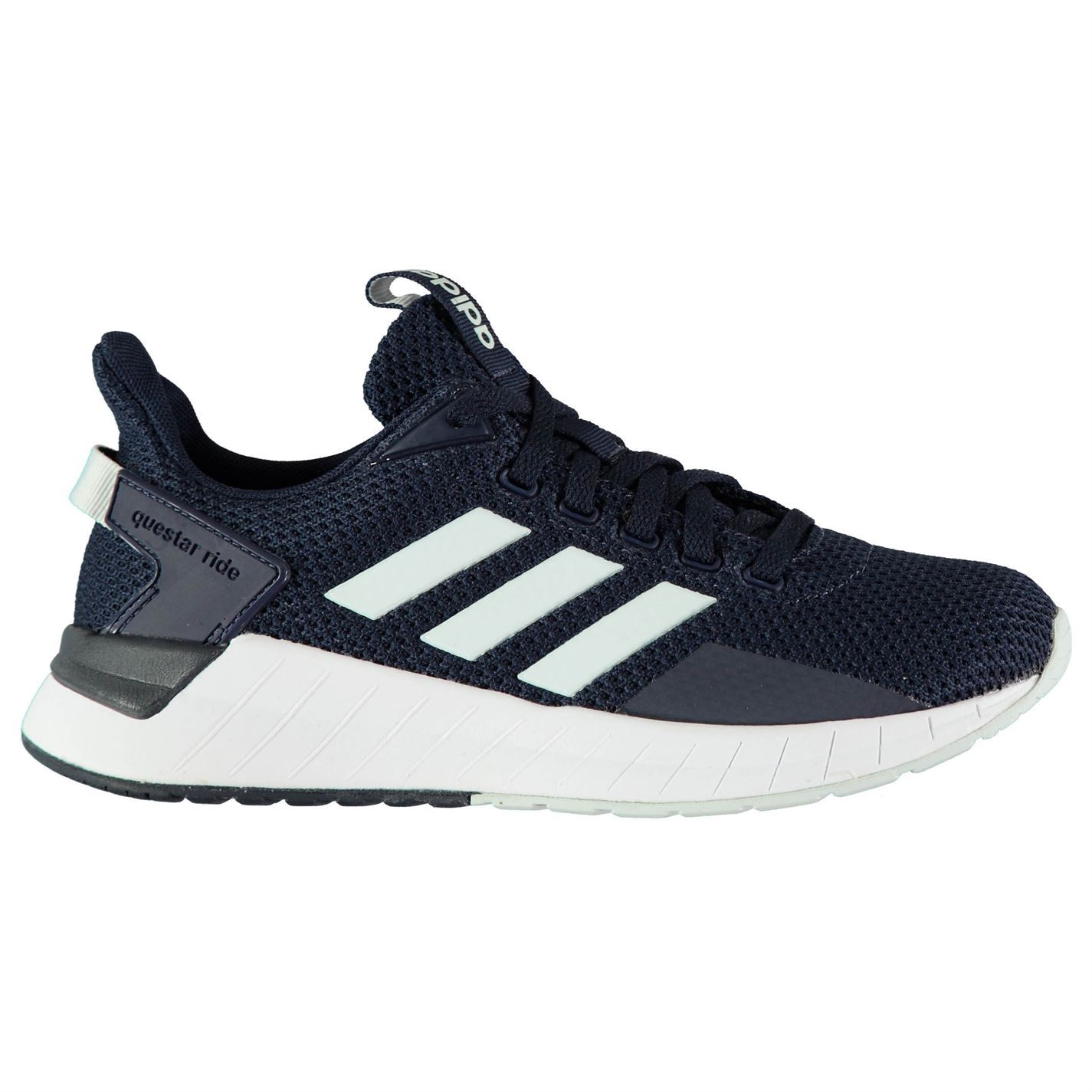 Adidas Damenschuhe Questar Ankle Ride Trainers Runners Lace Up Padded Ankle Questar Collar Tongue 4599f9